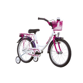 "Vermont Girly Childrens Bike 18"" pink/white"